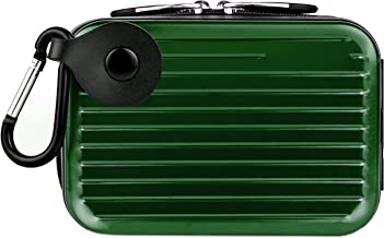 VanGoddy Pascal Metal Carrying Hard Case for Sony Cyber Shot DSC Model H55 H70 H90 HX10V HX20V HX30V HX5 HX50V HX7V HX9V Point and Shoot Digital Cameras (Green)
