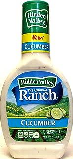 Hidden Valley Cucumber Dressing (Pack of 2) 16 oz Bottles
