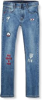 IKKS Junior Jean Denim Light Blue Jeans para Niños