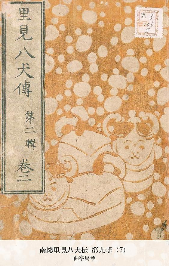 居住者リーチ創造南総里見八犬伝 第九輯(7) (国立図書館コレクション)