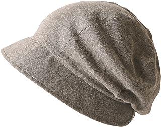CHARM NOPO キャスケット 帽子 [ フリーサイズ / 全3色展開 ] オーガニックコットン レディース帽子