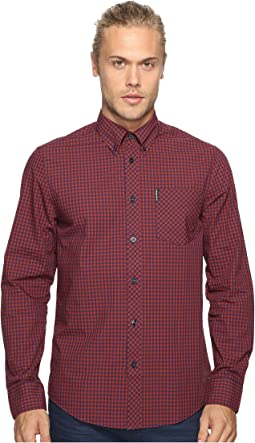 Ben Sherman - Long Sleeve Gingham Woven Shirt