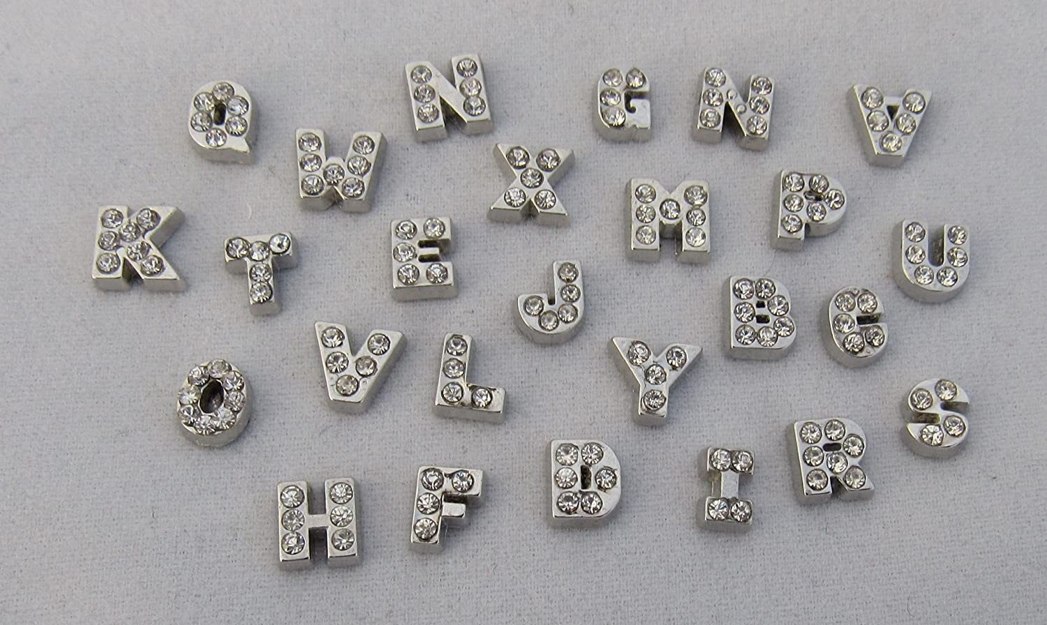 Rhinestone Letter J Initial Floating cheap Charm Superior Locket Add Your to