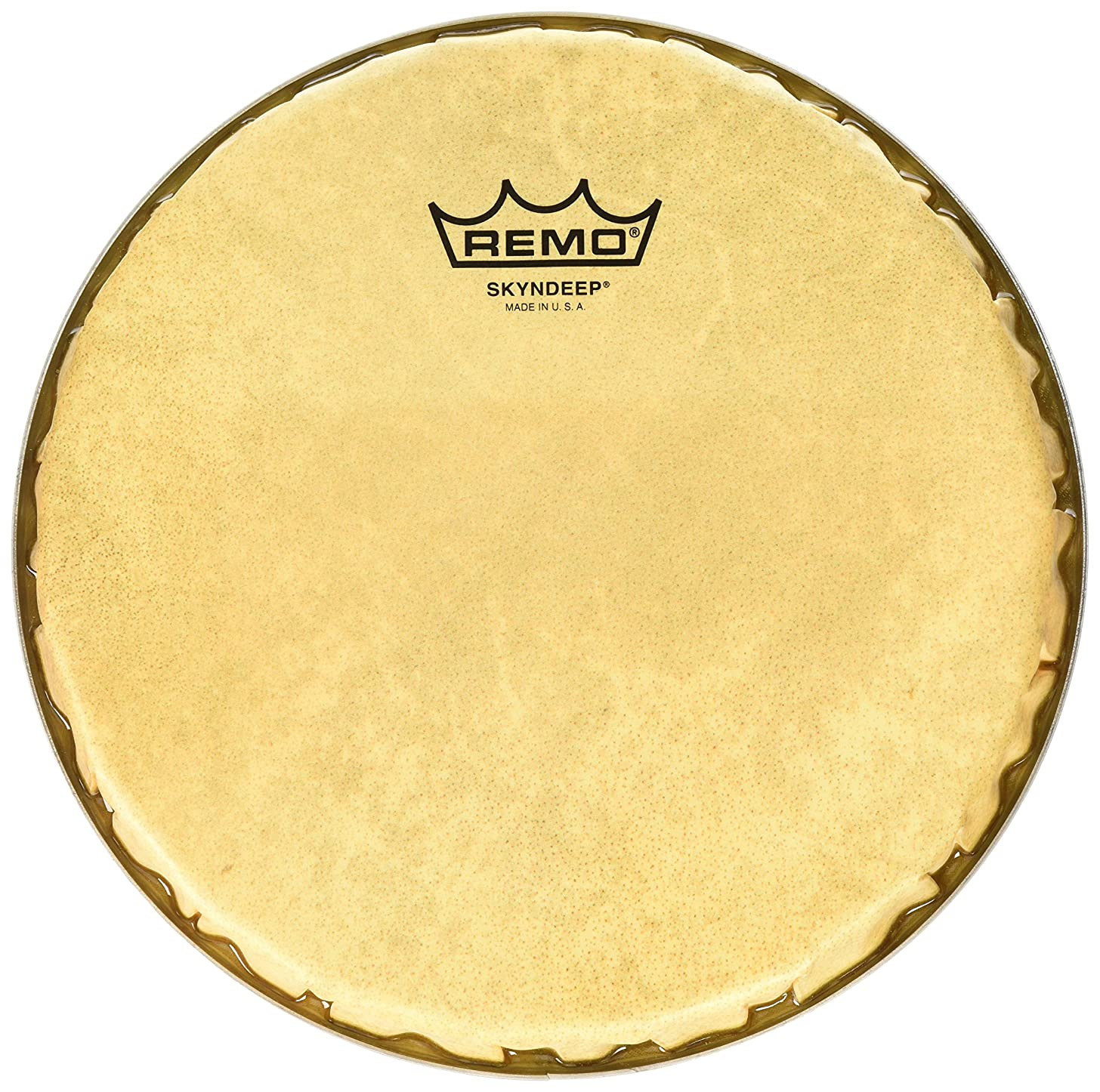 Remo R-Series Skyndeep Bongo Drumhead - Calfskin Graphic, 8.50