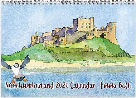 2020 Northumberland Calendar