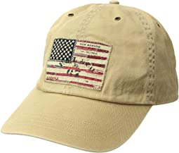 Cotton Chino Iconic Flag Cap