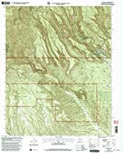 YellowMaps Canada NW NM topo map, 1:24000 Scale, 7.5 X 7.5 Minute, Historical, 2002, Updated 2003, 27 x 22 in