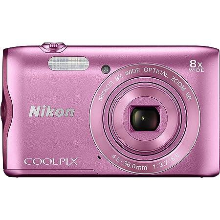 Nikon デジタルカメラ COOLPIX A300 光学8倍ズーム 2005万画素 ピンク A300PK
