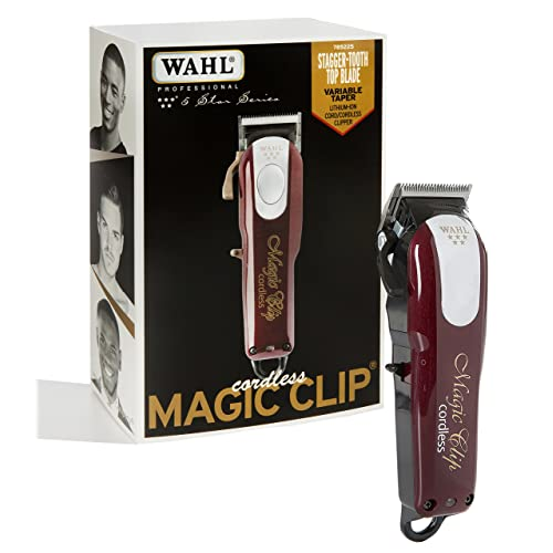 Wahl Professional 5-Star Cord Cordless Magic Clip  8148 – Great for Barbers 7aa724712fbb