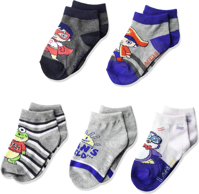 High Point boys Ryan's World 5 Pack Shorty Socks