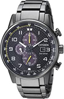 Citizen Men's Eco-Drive Japanese-Quartz Watch with Stainless-Steel Strap (Model: CA0687-58E)