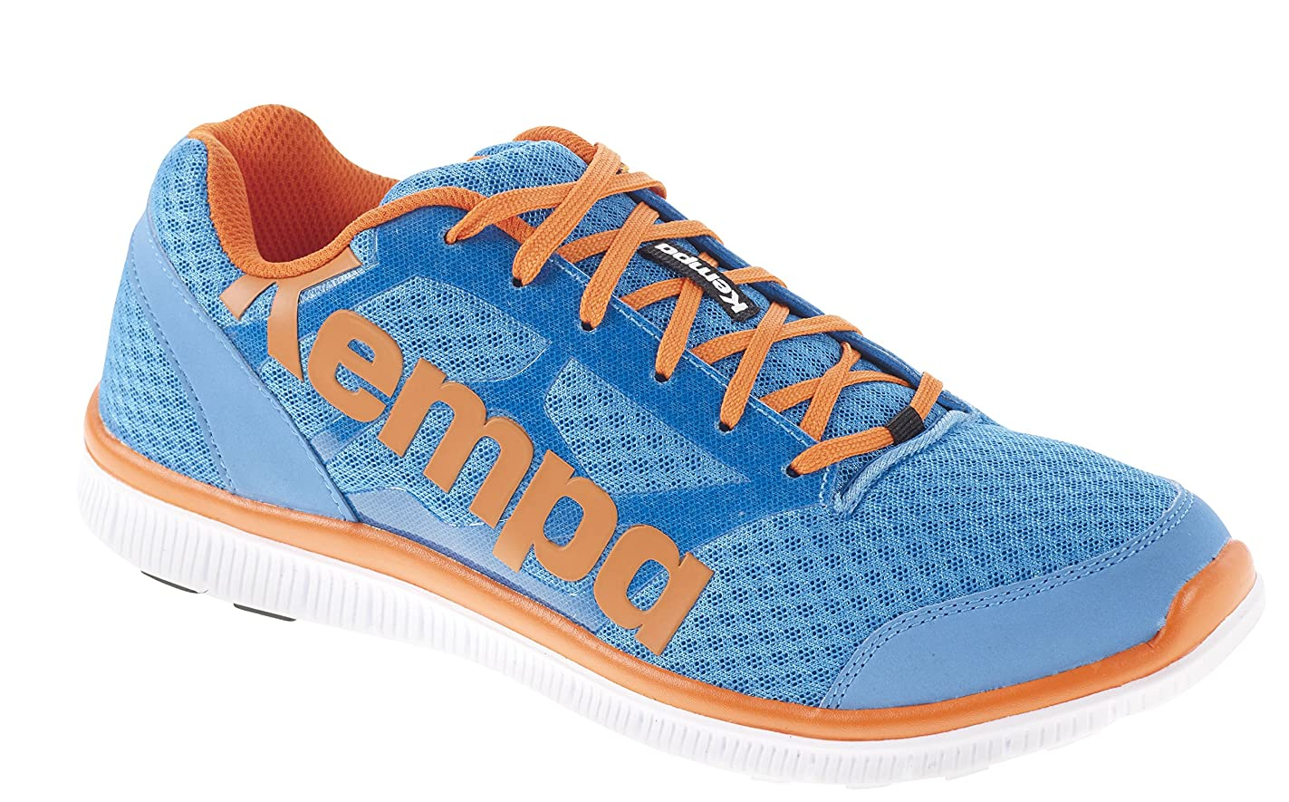 ブランド名性差別表現Kempa K-Float大人用混合ハンドボールシューズ、色とりどり(Kempableu/Orange)38.5 EU