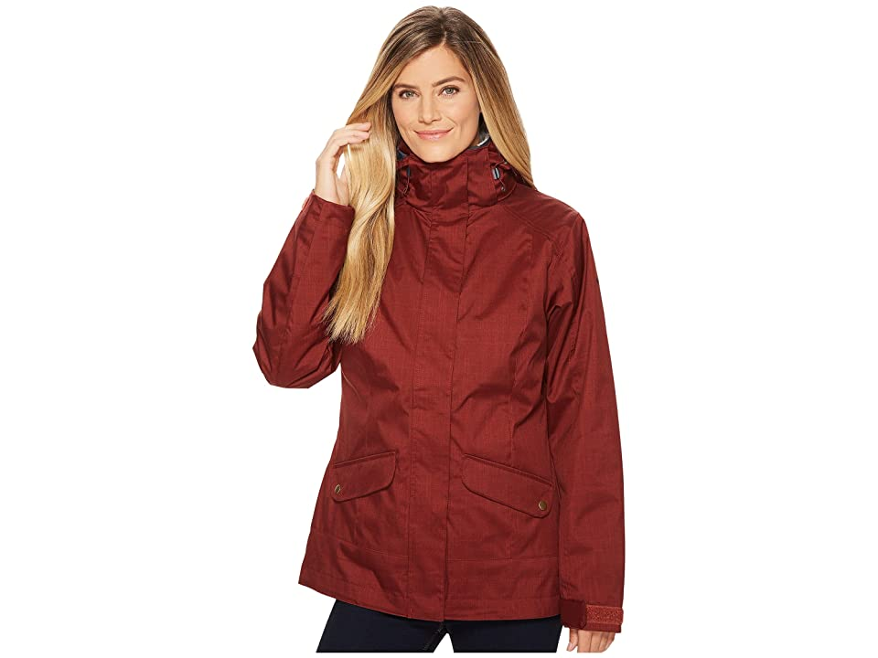 Columbia Sleet to Street Interchange Jacket (Deep Rust India Ink) Women