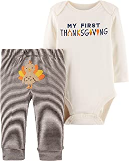 Carter's Baby 2-Piece Thanksgiving Bodysuit Pant Set