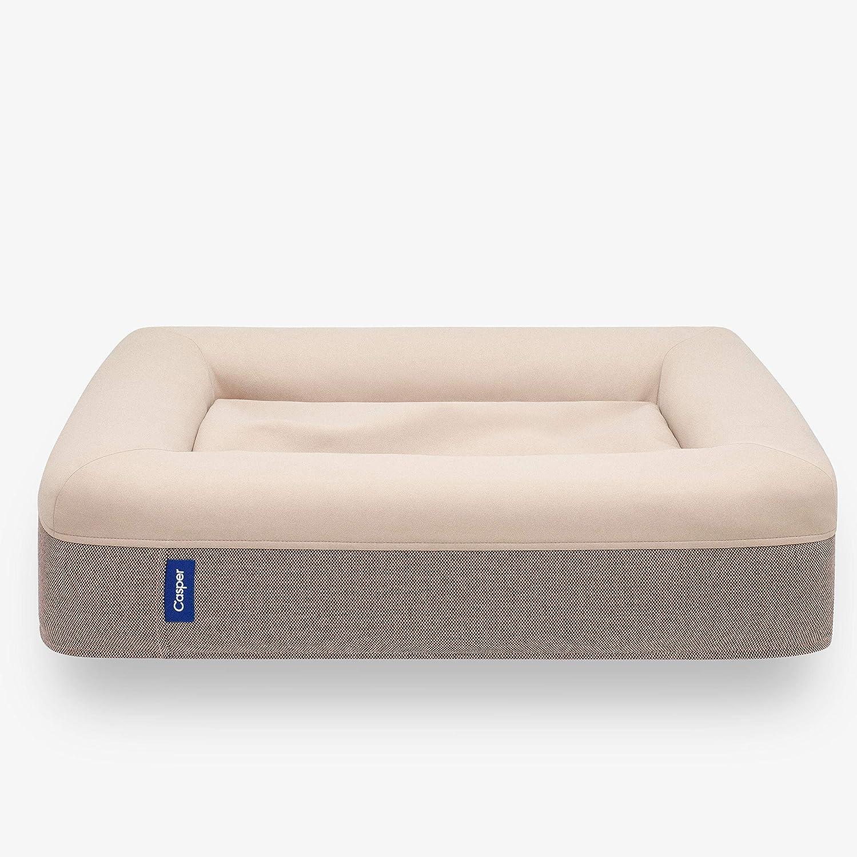 Casper PT00000046 Memory Foam Pet Bed, Sand, Small