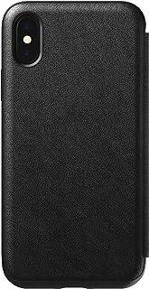 Nomad Tri-Folio Leather Rugged Black iPhone X/Xs