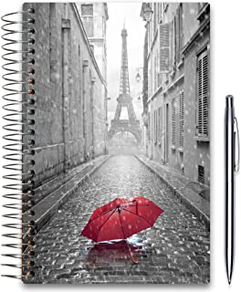 Tools4Wisdom 2020 Planner 5x8 - October 2019-2020 - Daily Weekly Monthly Hardcover Planner - Dated Oct November December 2019 Plus 2020 Calendar Year - Paris Hardcover