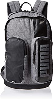 Puma Deck Backpack Ii Medium Gray Heathe Grey Bag For Unisex, Size One Size