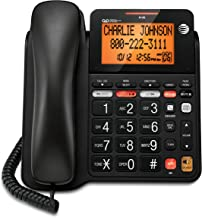 AT&T CD4930 Corded Phone with Answering System and Caller ID, Black (Renewed) photo