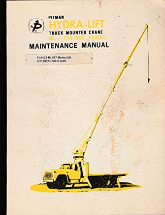 Amazon com: Pitman Crane Manual: Books
