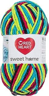 RED HEART E891.9827 Sweet Home Yarn Blacklight