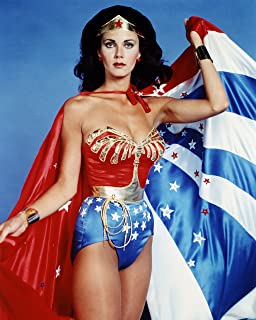 - Diana Prince Superhero LEGO\u00ae Minifigure Lynda Carter Wonder Woman Necklace -