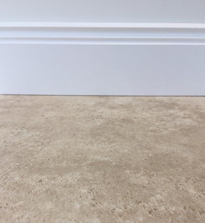 PVC Vinyl-Bodenbelag in gebleichtem Grau Muster PVC-Belag rutschhemmend CV-Boden wird in ben/ötigter Gr/ö/ße als Meterware geliefert
