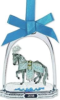 Breyer Celestine 2018 Holiday Horse Stirrup Ornament Holiday Ornament