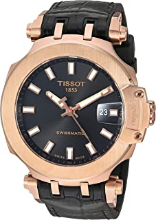 Tissot Mens T-Race Swiss Automatic Stainless Steel Sport Watch (Model: T1154073705100)