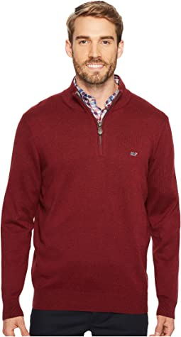 Vineyard Vines - Cotton 1/4 Zip Sweater