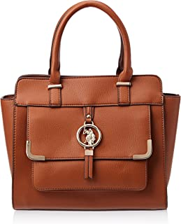 U.S. Polo Assn. Satchel for Women- Brown