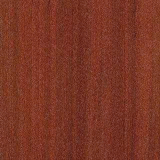 Sapele Wood Veneer Qtr Cut Ribbon 48x96 10 mil(Paperback) Sheet