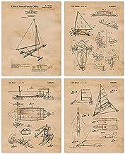 Kraken And Ancient Sail Boats Choose Something Fun Poster Art Print Decor Home