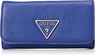 GUESS womens Carys Large Flap Organizer Wallet