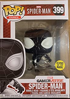 Funko Pop Games: Marvel Gameverse - Negative Spider-Man Glow in the Dark Collectible Figure, Multicolor