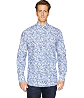 Eton - Contemporary Fit Floral Printed Shirt