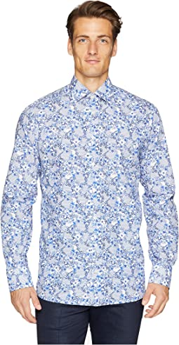 Contemporary Fit Floral Printed Shirt