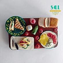 Soniya's Art Lounge Sandwich Making Handmade Miniature Food Fridge Magnet