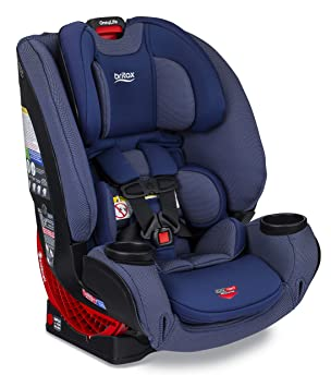 Britax One4Life ClickTight All-in-One Car Seat – 10 Years of Use – Infant, Convertible, Booster – 5 to 120 Pounds - SafeWash Fabric, Cadet: image