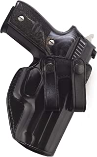 Galco Summer Comfort Inside the Waistband Holster 1911 Officer Leather Black
