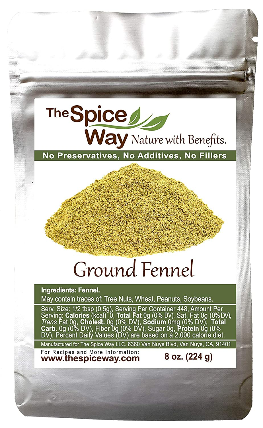 The Spice Way Fennel Great interest Seed Ground - bulk seeds for Milwaukee Mall great t powder