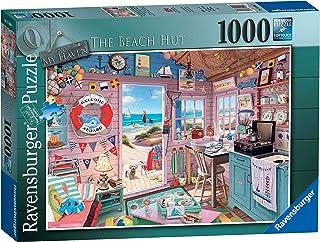 Ravensburger My Haven No.7 The Beach Hut 1000 delar pussel för vuxna och för barn i åldern 12 och uppåt