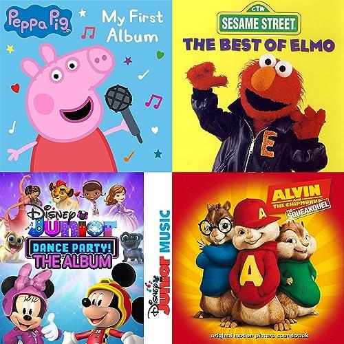 Peppa Pig And More By Kidz Bop Kids Peppa Pig The Chipmunks Cast