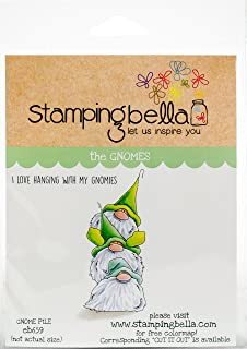 Stamping Bella EB659 Gnome Pile Cling Stamps, Multicolor