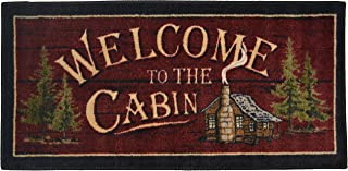 Cozy Cabin CC5268 Welcome to the Cabin Non Skid Rug 20