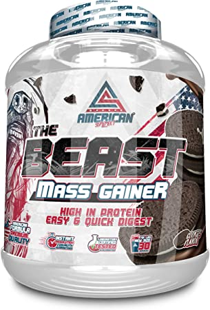 THE BEAS MASS GAINER 2kg, American Suplement, carbohidrato, gainer, subidor de peso (CHOCOLATE)