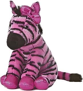 Aurora World Girlz Nation Pink and Black Zebra Plush, 11