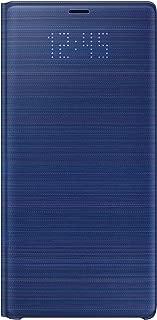 Samsung Electronics Galaxy Note9 Case, LED View Wallet Cover, Ocean Blue - EF-NN960PLEGUS