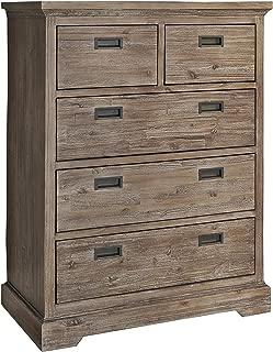 Hillsdale Furniture 7104-785 Oxford 5 Drawer Chest, Cocoa