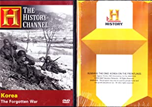 The History Channel : Korea the Forgotten War , Running the DMZ : Korea on the Frontlines - The Korean Conflict Longest-running Military Operation in History : Korean War 2 Pack